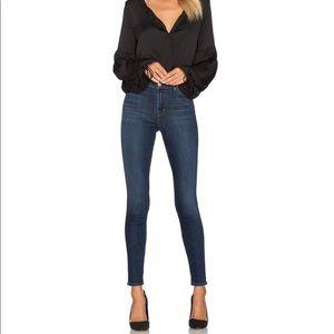 J BRAND   High-Rise Skinny Leg Jeans